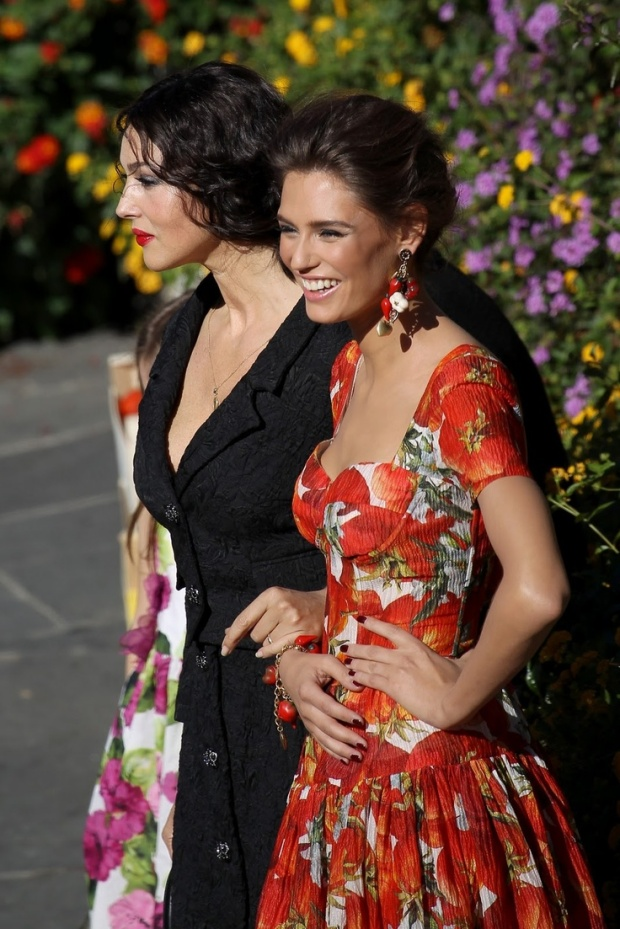 Two Italian Beauties - Bellucci and Balti for DG2012