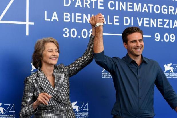 """74a Mostra del Cinema. Photocall """"Hanna"""". regia di Andrea Pallaoro con Charlotte Rampling"""