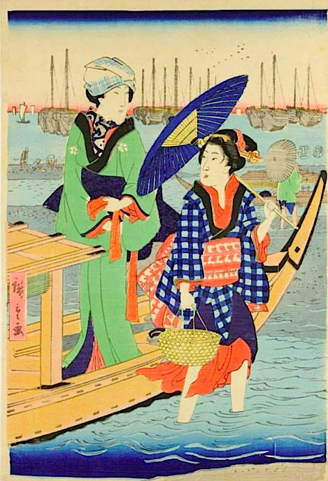 HIroshige_shiagawa_1855
