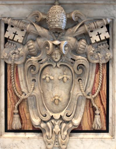 Barberini's coat of arms