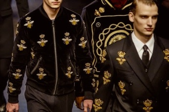 From a D&G Runway Show