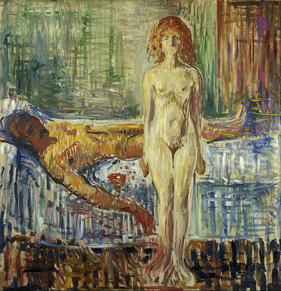 Edvard_Munch_-_The_Death_of_Marat_II_-_Google_Art_Project