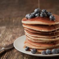 Breakfast delight: the Pancakes