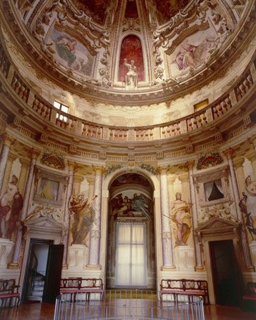 la rotonda palladio central room