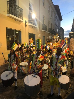 Salvador - historic downtown - 2020 Carnival drums performance _ credits Fernanda Gianone
